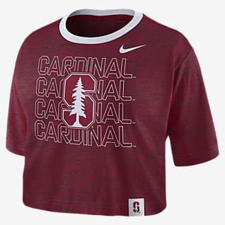 Nike College (Stanford) Women's Crop T-Shirt