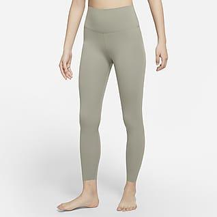 Nike Yoga Luxe เลกกิ้ง Infinalon เอวสูงผู้หญิง 7/8 ส่วน