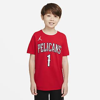 New Orleans Pelicans Statement Edition Tričko NBA pro větší děti