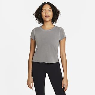 Nike Yoga Dri-FIT Top a manica corta - Donna