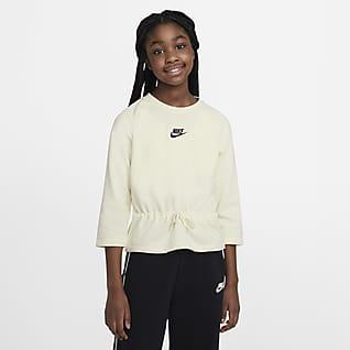 Nike Sportswear Older Kids' (Girls') 3/4-Sleeve Top