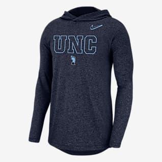 Nike College (UNC) Men's Long-Sleeve Hoodie T-Shirt