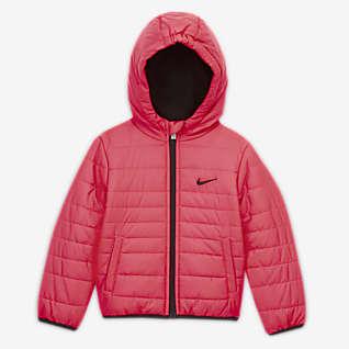 Nike Puffer-Jacke mit durchgehendem Reißverschluss für Babys (12 bis 24 Monate)