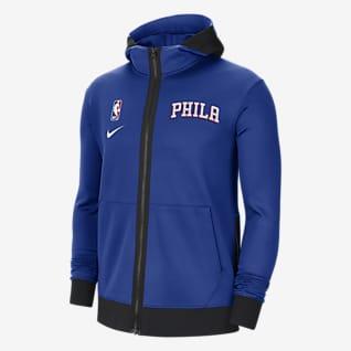 Philadelphia 76ers Showtime Men's Nike Therma Flex NBA Hoodie
