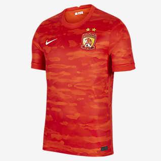 2021 赛季广州恒大淘宝主场球迷版 男子足球球衣