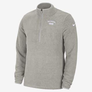 Nike College (Michigan) 1/2-Zip Fleece