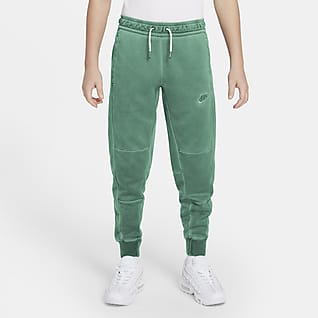 Nike Sportswear กางเกงขายาวผ้าเจอร์ซีย์เด็กโต