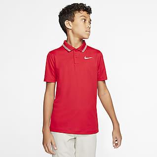 Nike Dri-FIT Victory Chłopięca koszulka polo do golfa