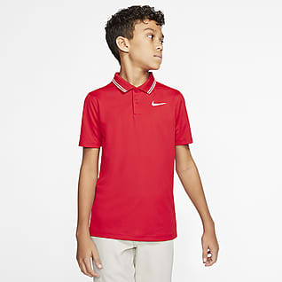 Nike Dri-FIT Victory Golfpikétröja för killar