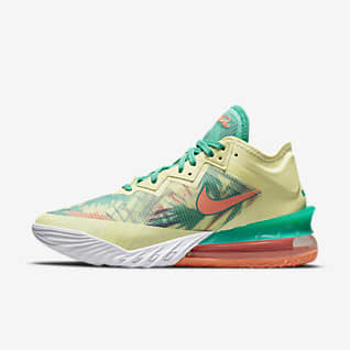 """LeBron 18 Low """"Summer Refresh"""" Basketball Shoes"""
