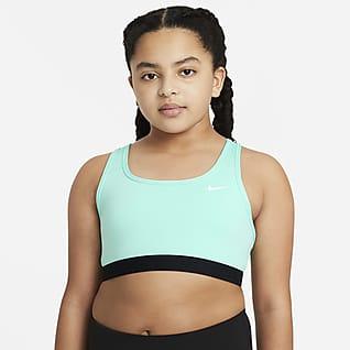 Nike Swoosh Bra deportivo para niñas talla grande (talla amplia)