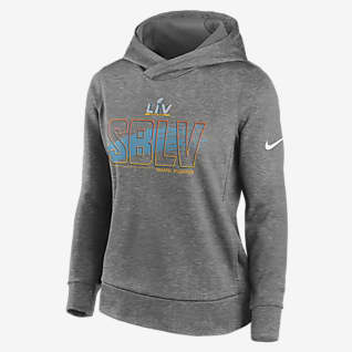 Nike Therma Super Bowl LV Outlined Women's Pullover Hoodie