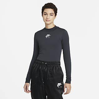 Nike Air Camiseta de manga larga y cuello alto para mujer