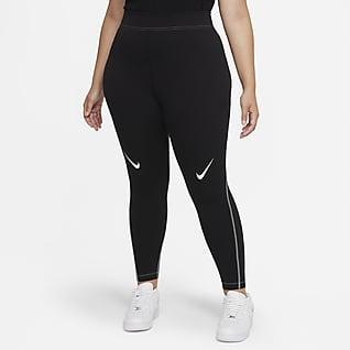 Nike Sportswear Swoosh Leggings de tiro alto para mujer (talla grande)