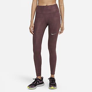 Nike Dri-FIT Run Division Epic Fast Lauf-Leggings mit halbhohem Bund für Damen