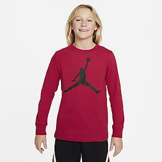 Jordan Hosszú ujjú póló nagyobb gyerekeknek (fiúk)