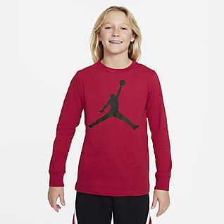 Jordan Langarm-T-Shirt für ältere Kinder (Jungen)