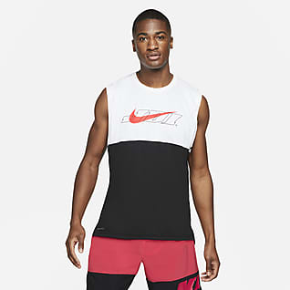 Nike Pro Dri-FIT Sport Clash Linne med tryck för män