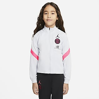 Paris Saint-Germain Strike Younger Kids' Knit Football Tracksuit