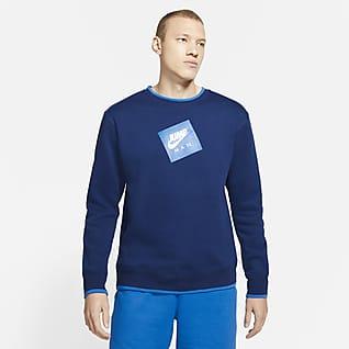 Jordan Jumpman Classics Sweatshirt van fleece met ronde hals voor heren