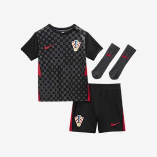 Kroatia 2020 (bortedrakt) Fotballsett til sped-/småbarn
