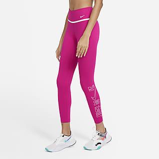 Nike One Icon Clash Women's 7/8 Graphic Leggings