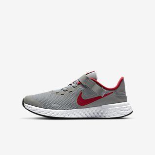 Nike Revolution 5 FlyEase Беговые кроссовки для школьников