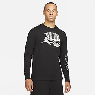 Jordan 品牌 男款長袖 T 恤