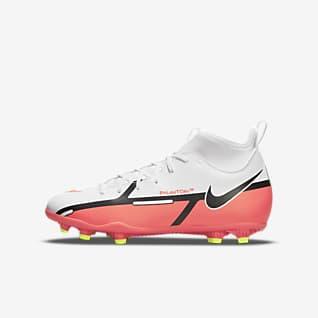 Nike Jr. Phantom GT2 Club Dynamic Fit MG 小/大童多種場地足球釘鞋