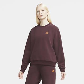 "Nike ACG Polartec® ""Wolf Tree"" Sudadera de cuello redondo para mujer"