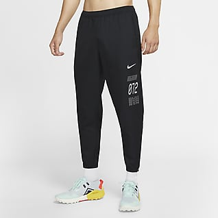 Nike Essential Wild Run กางเกงวิ่งขายาวผู้ชายแบบทอ