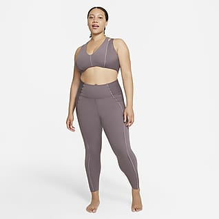 Nike Yoga Luxe Dri-FIT Enterizo de tela Infinalon para mujer (talla grande)