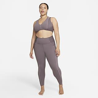 Nike Yoga Luxe Dri-FIT Women's Infinalon Jumpsuit (Plus Size)