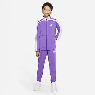Nike Sportswear Conjunto de entrenamiento para niños talla grande