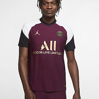 Vapor Match alternativo del Paris Saint-Germain 2020-2021 Camiseta de fútbol para hombre