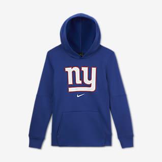 Nike Essential New York Giants Older Kids' (Boys') Logo Hoodie