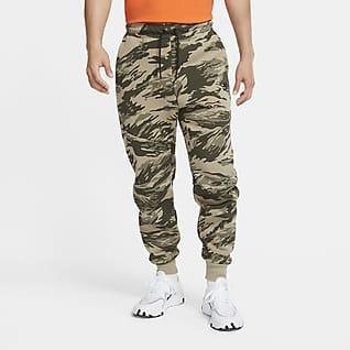 Nike Tech Fleece Pánské běžecké kalhoty smaskáčovým vzorem