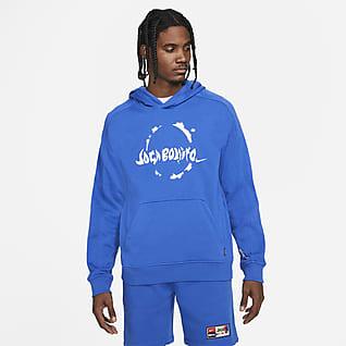 Nike F.C. Sudadera con gorro sin cierre tejida de fútbol para hombre