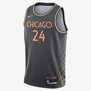 Chicago Bulls City Edition Джерси Nike НБА Swingman