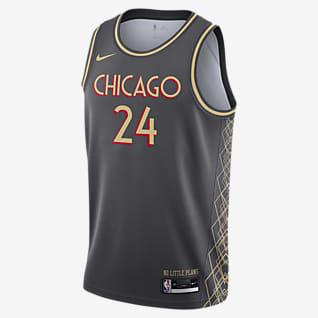 Chicago Bulls City Edition Nike NBA Swingman Trikot