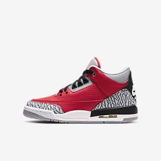 Air Jordan 3 Retro SE Sko til store barn