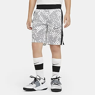 Nike Elite Big Kids' (Boys') Printed Basketball Shorts