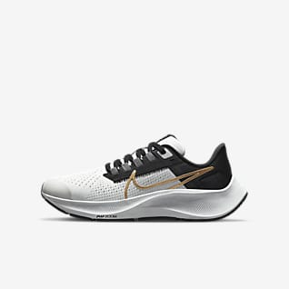 Nike Air Zoom Pegasus 38 Løpesko for vei til store barn