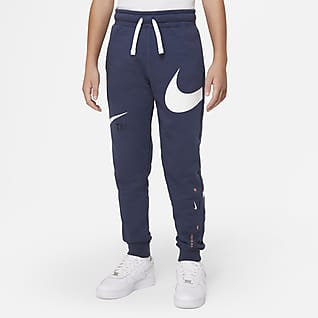 Nike Sportswear Swoosh Fleecebyxor för ungdom (killar)