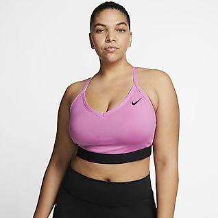 Nike Dri-FIT Indy Women's Light-Support Padded Sports Bra (Plus Size)