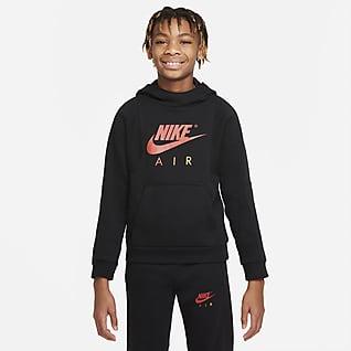 Nike Air Mikina skapucí pro větší děti (chlapce)