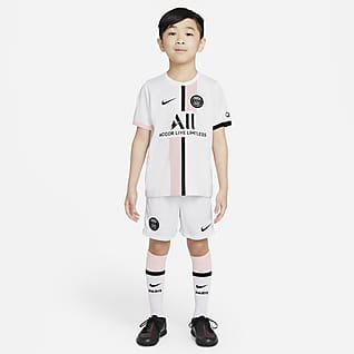 Paris Saint-Germain 2021/22 Away Fotbollsställ för barn