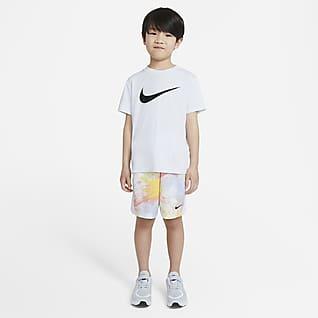 Nike Sportswear Conjunto de camiseta de tirantes y shorts de teñido batik para niños talla pequeña