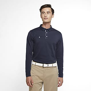 Nike Dri-FIT Player Men's Long-Sleeve Golf Polo