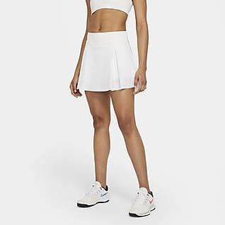Nike Club Skirt Düz Kesim Kadın Tenis Eteği (Uzun)